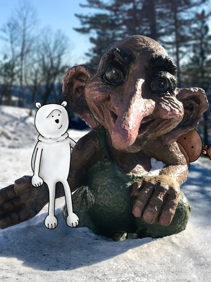 Meeting a Troll